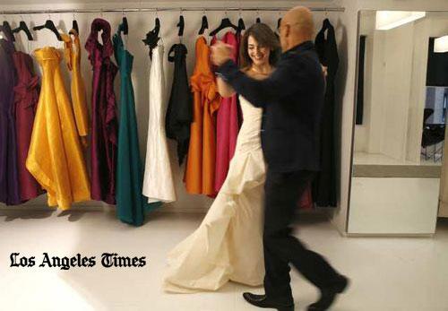 Dressing Eloisa Maturen, a.k.a. Mrs. Dudamel